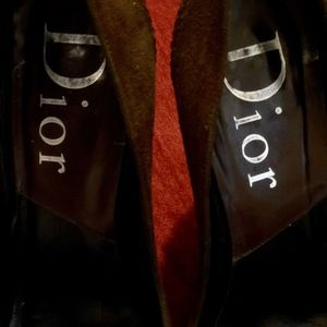 "Dior Shoes - Spectacular Suede Dior Pumps With 4"" Heel 💋"
